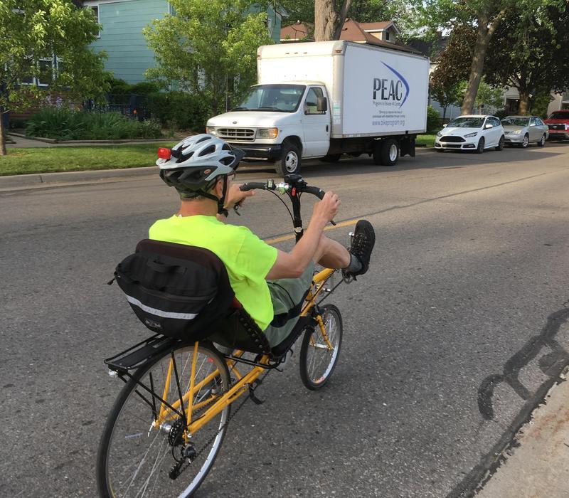 Bob Krzewinski, Ypsilanti 'Ride of Silence' organizer