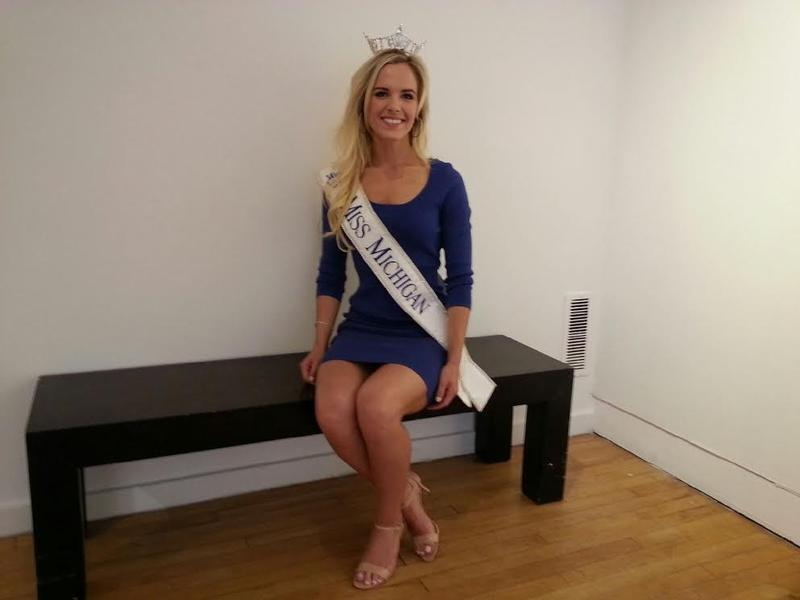 Miss Michigan is an Ann Arbor resident.