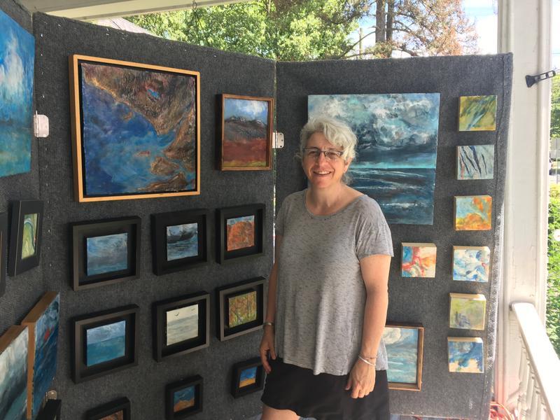 Artist Leslie Sobel