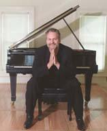 Mark Braun, better known as blues and boogie-woogie piano master, Mr. B.