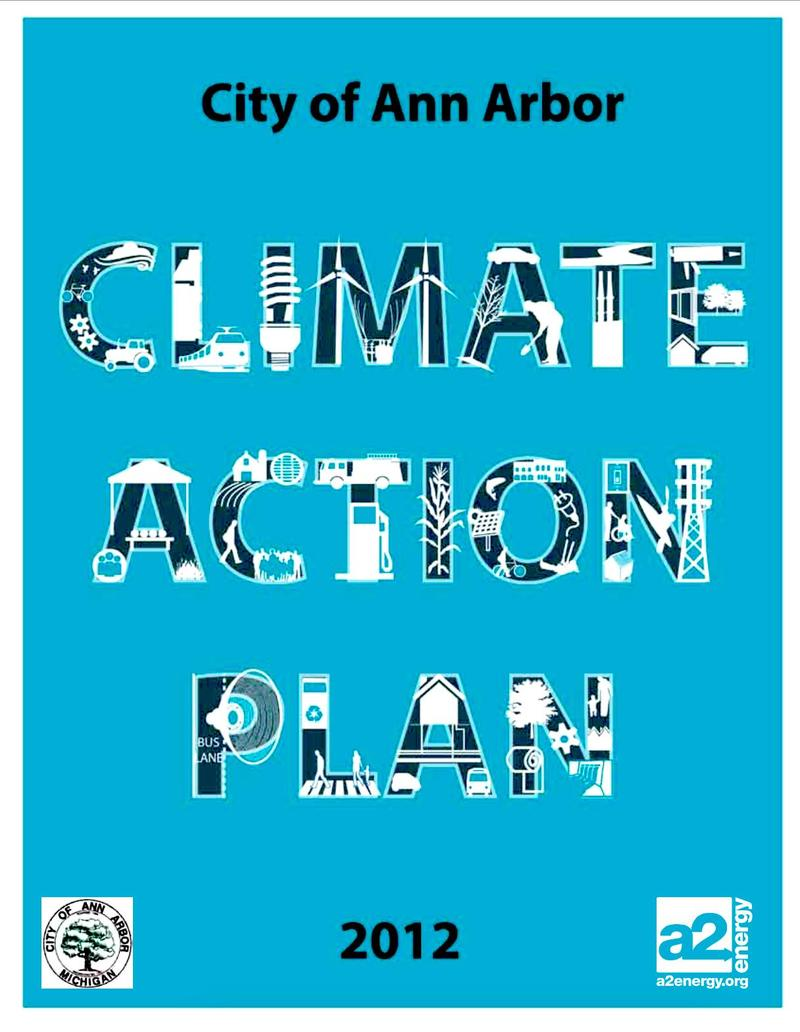 •	Climate Action Plan, City of Ann Arbor