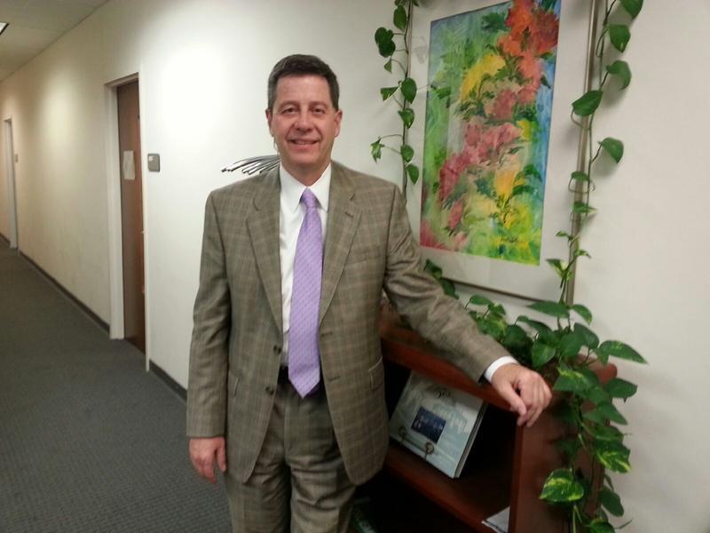 Kevin Kucera, Vice-President of Enrollment Management at Eastern Michigan University.