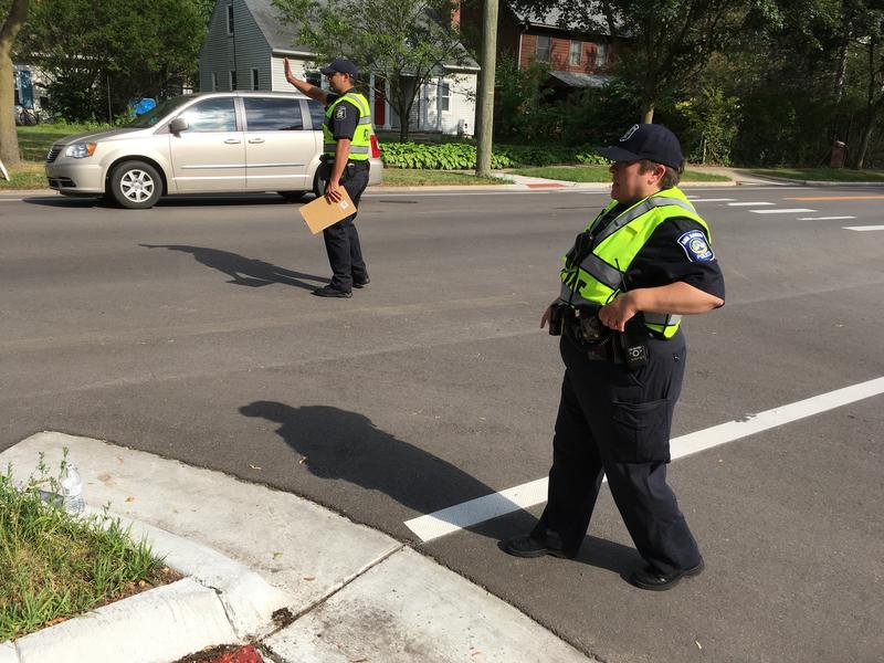'Changing Driver Behavior Study' to increase yielding at crosswalks in Ann Arbor.