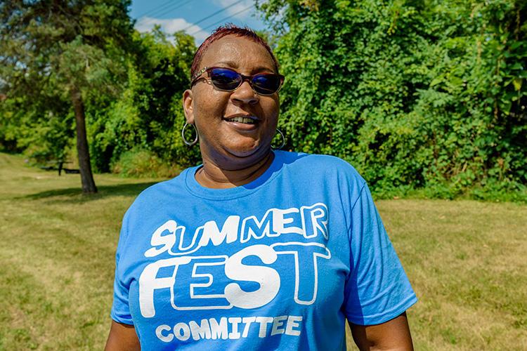 Ypsilanti resident Charisa Allen