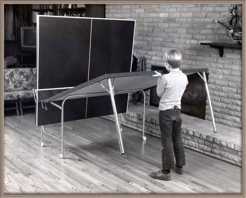 "The ""Detroiter"" ping pong table was featured in the film Forrest Gump."
