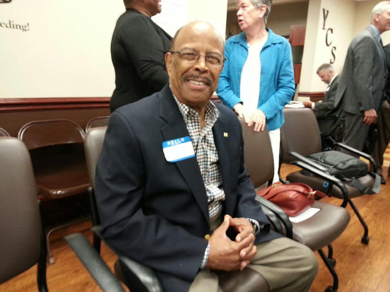 Henry Johnson, Board Member of the Presbyterian Villages of Michigan, also took part in the forum.