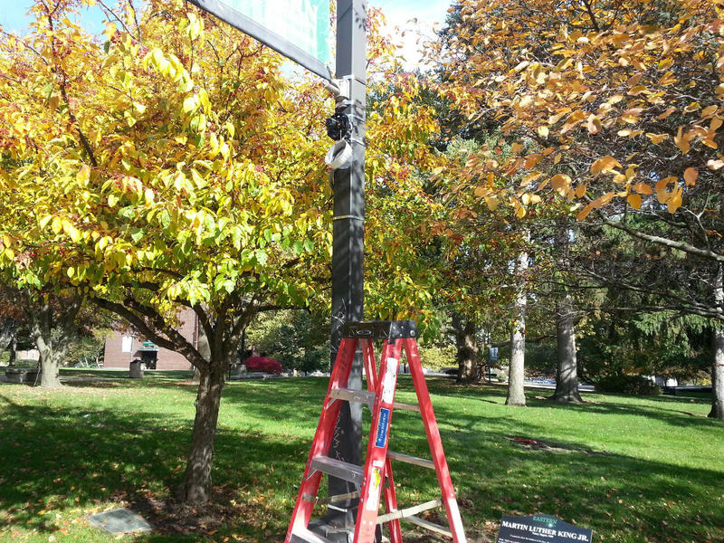 There are now over 800 surveillance cameras on the EMU campus.