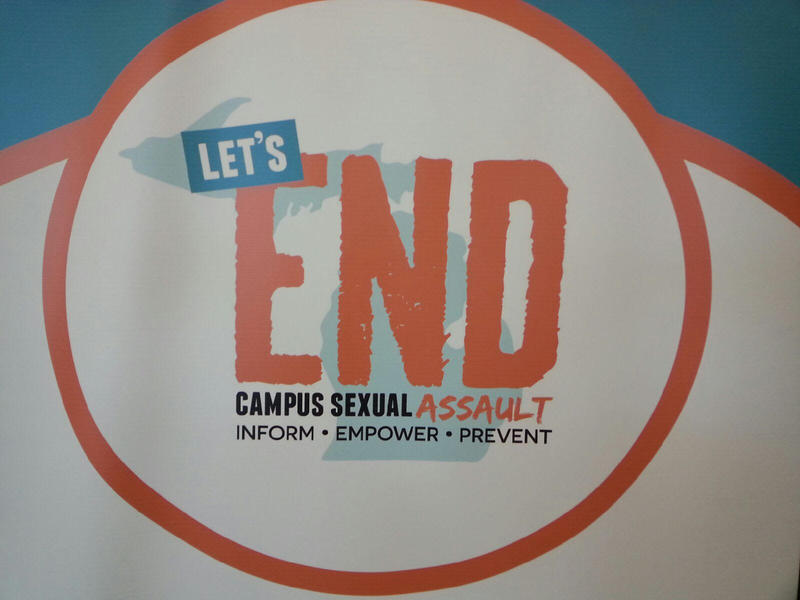 Let's End Campus Sexual Assault summit hosted at Eastern Michigan University.