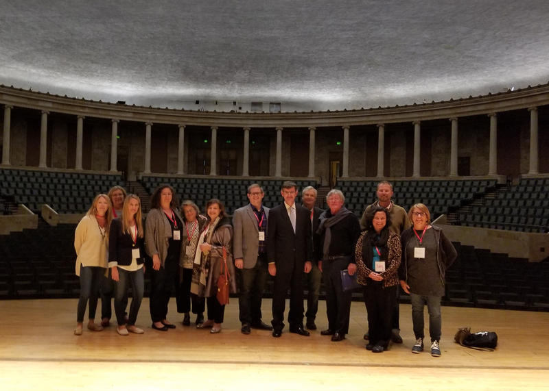 2017, Americans for the Arts  Executive Leadership Team at Peristyle Theater in the Toledo Museum of Art