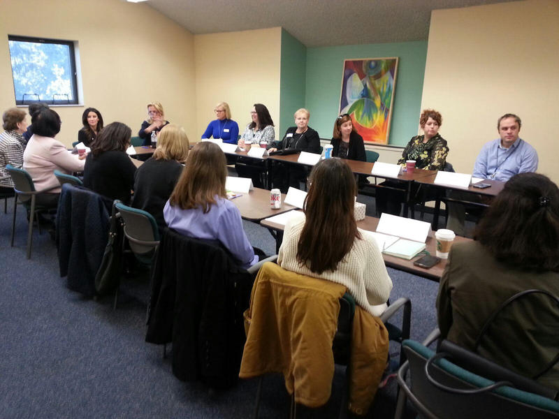 Over 20 representatives from several community organizations attended the announcement in Ann Arbor.