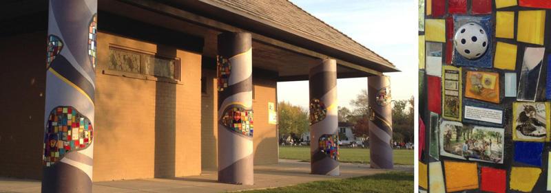 Mural Ann Arbor Treetown