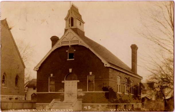 First Ward School in Ypsilanti.