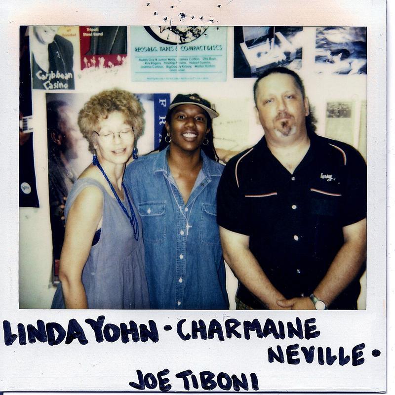 (l-r) Linda Yohn, Charmaine Neville, Joe Tiboni