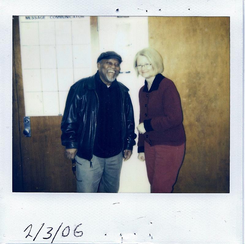 Linda Yohn with Marcus Belgrave