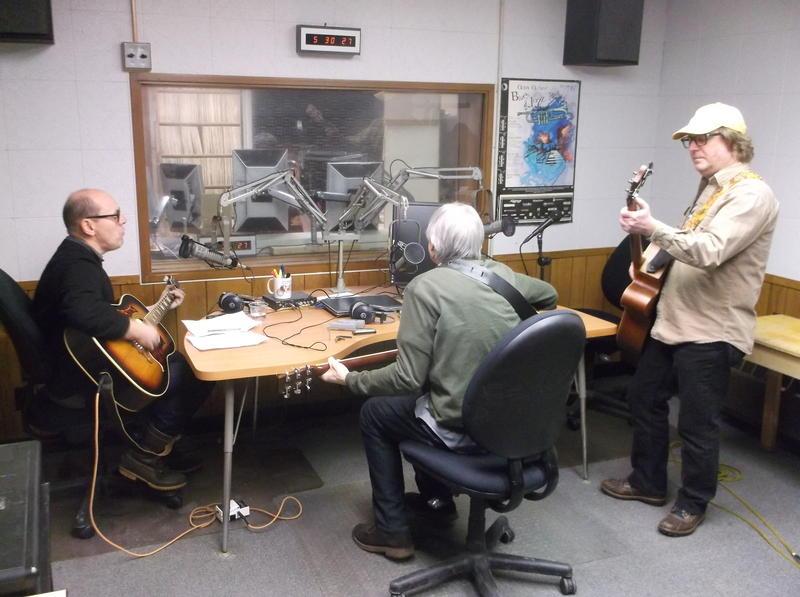 Corndaddy performs in the WEMU studios.
