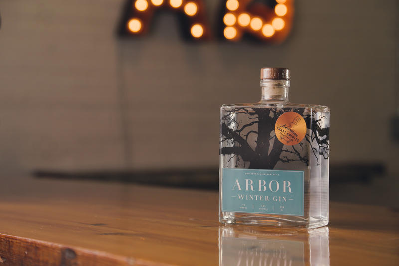 The Winter Gin is part of the Arbor Seasonal brand.