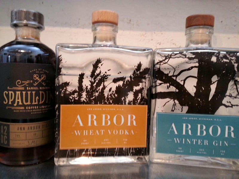 Spaulding's Coffee Liqueur and Arbor are two of the spirit brands.