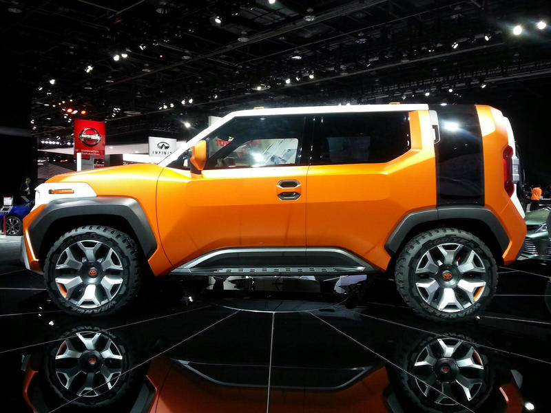 Toyota FT-4X concept car.