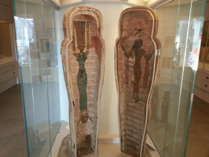 Mummy case.