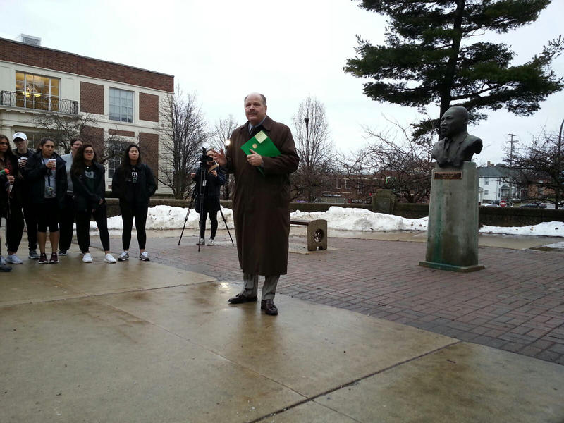 EMU President James Smith.