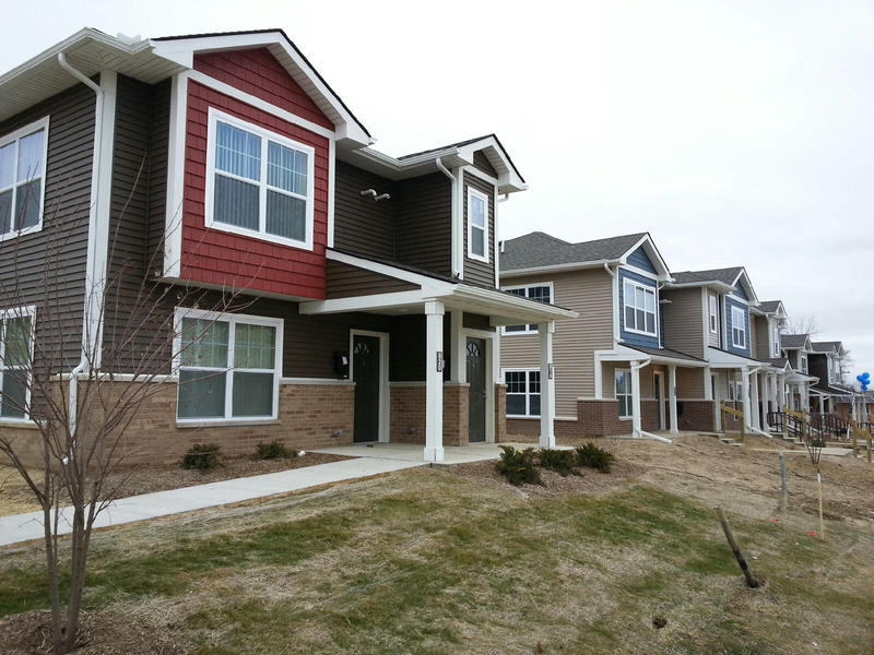 The New Parkridge community has 86 units.