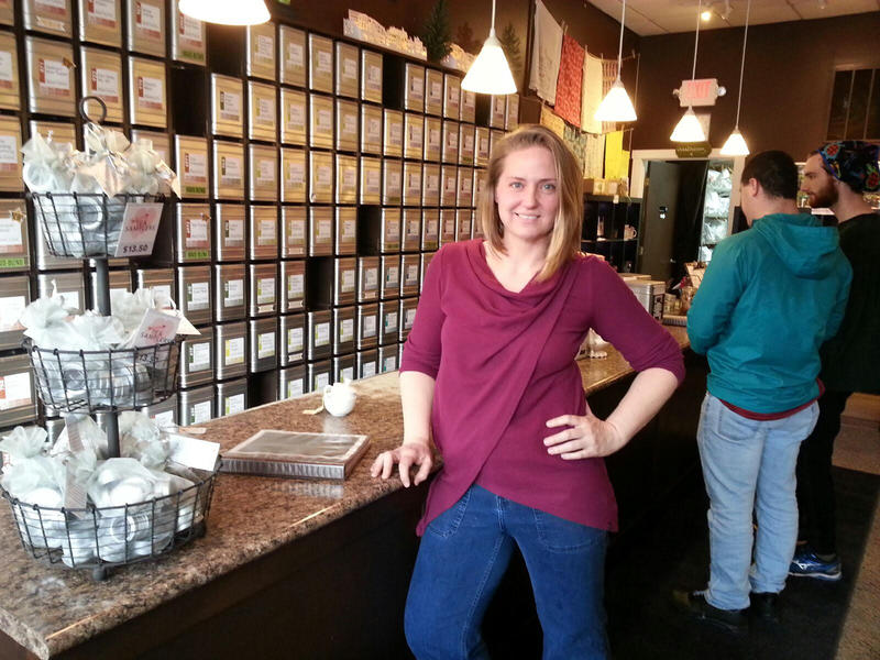 Lisa McDonald is a trained tea sommelier and owner of the TeaHaus in Ann Arbor.