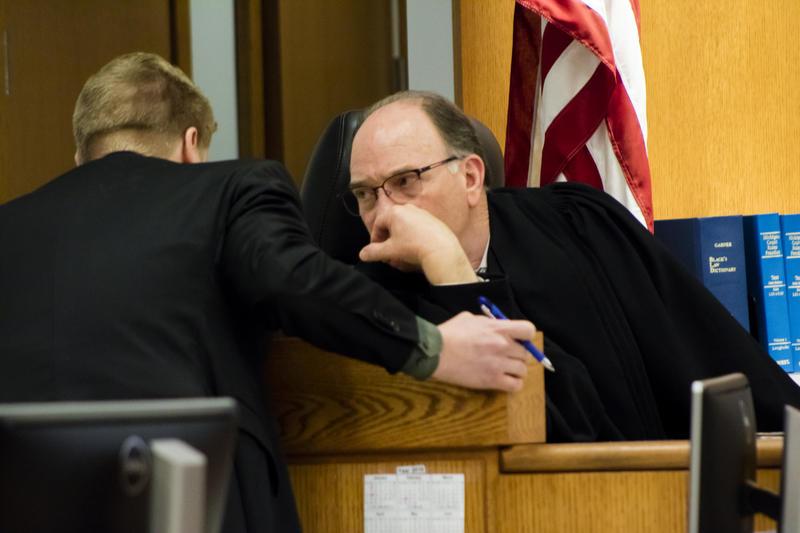 Isabella County Judge Paul Chamberlain
