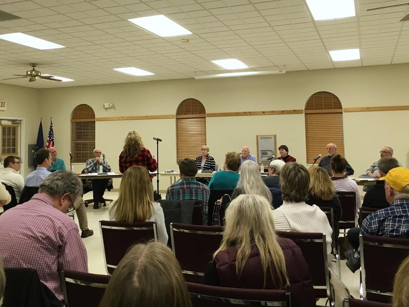 Webster Township Board meeting February 20, 2018