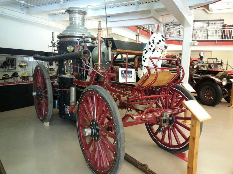 1908 steam engine.