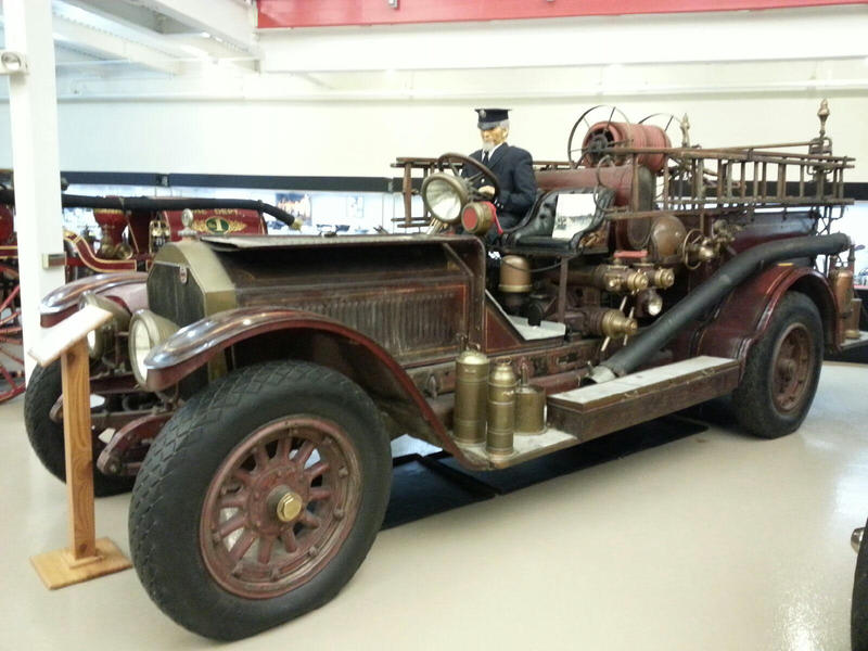 1916 Triple Combination Pumper truck.