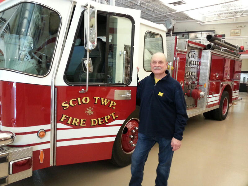Jon Ichesco, former Ypsilanti Fire Department Chief.