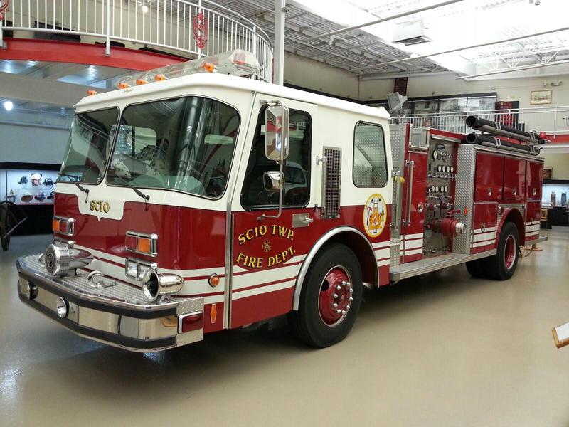 Scio Township firetruck.