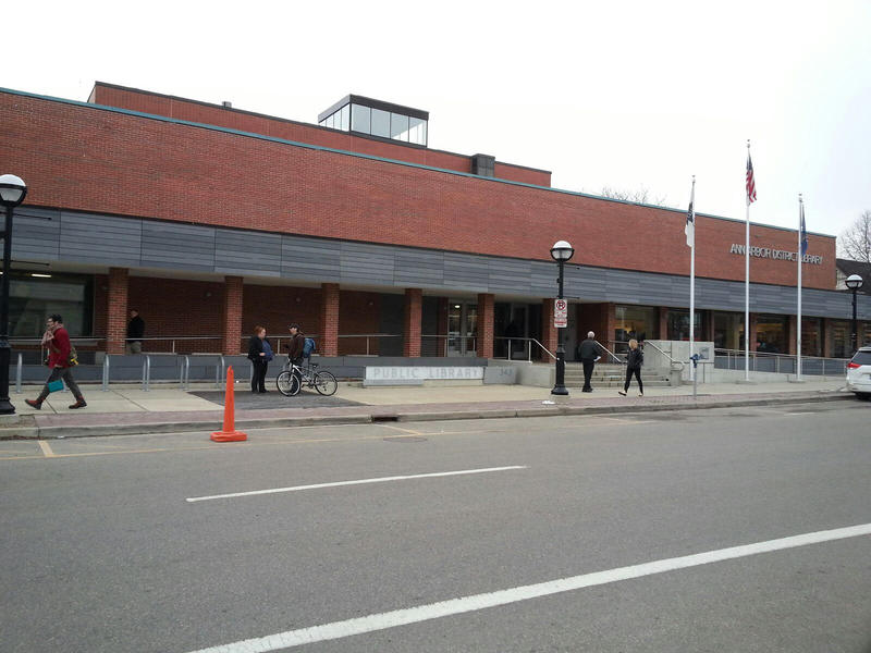 Ann Arbor District Library Downtown branch.
