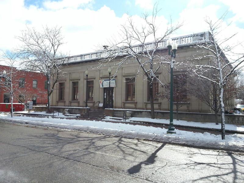 Ypsilanti District Library Michigan Avenue branch.