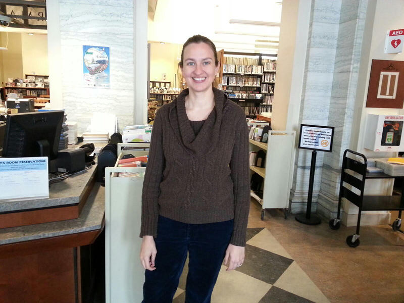 Ypsilanti District Library Communications Coordinator Gillian Gainsley.