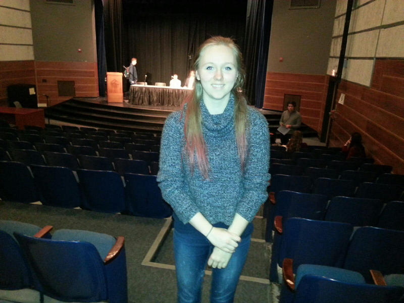 Pioneer High school student Emma Roth.