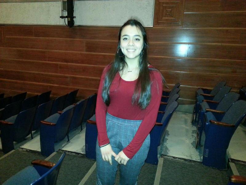 Pioneer High School student Clara Nuñez-Regueiro.