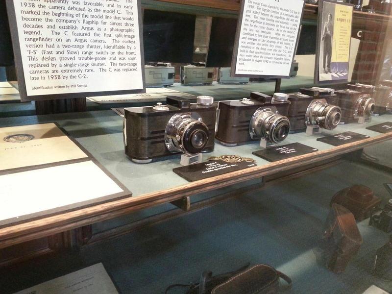 Argus A camera.