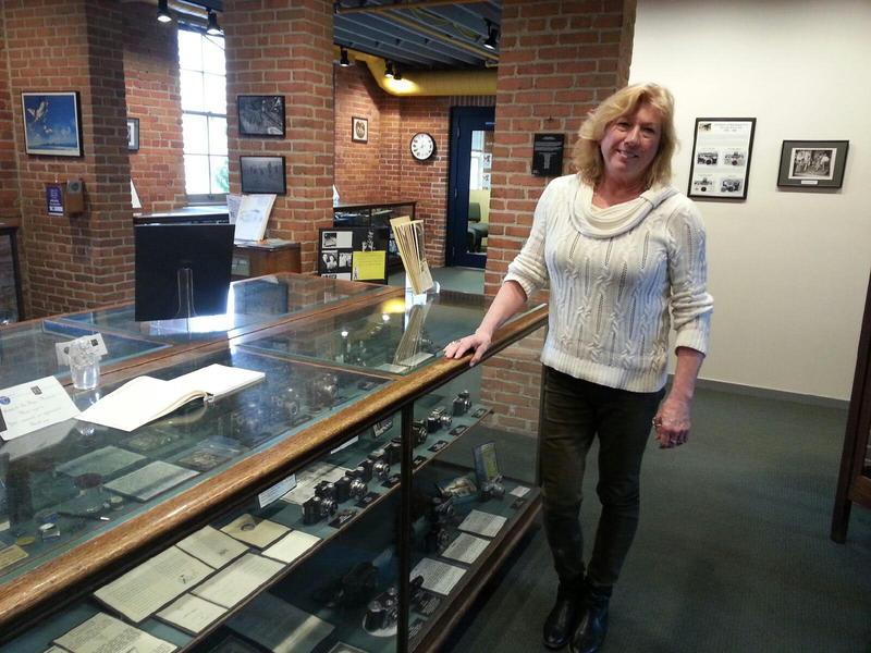 Argus Museum Curator Cheryl Chidester.