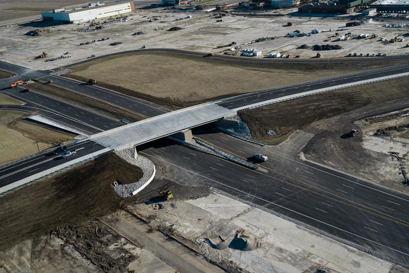 An overpass.