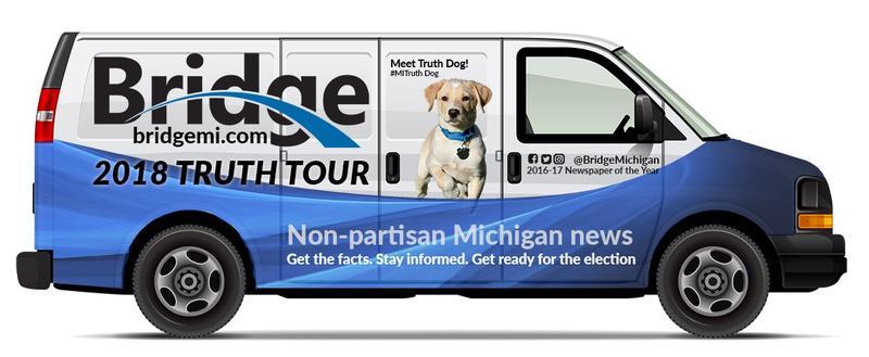 Truth Tour Van