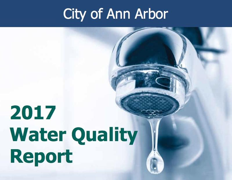 City of Ann Arbor Water Quality Report