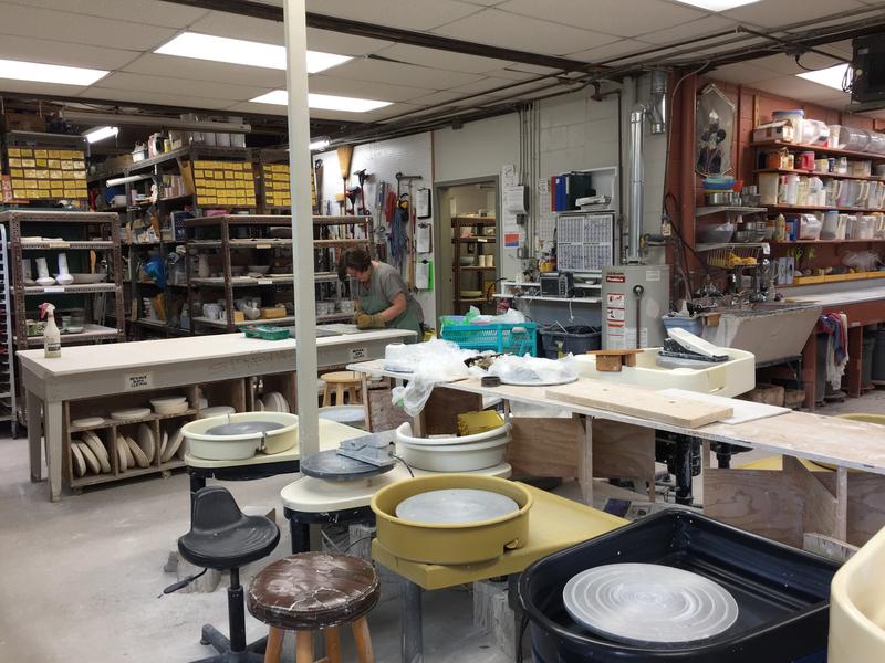 Inside the Ann Arbor Potters Guild