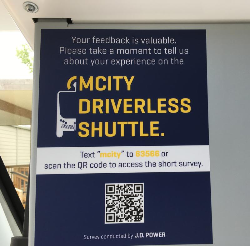 Feedback survey to gauge passenger reactions.