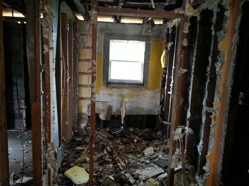 The house will be renovated into a 3 bedroom 1 bath home.