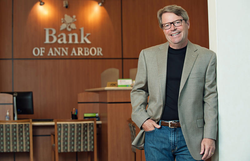 Tim Marshall, president and CEO of Bank of Ann Arbor