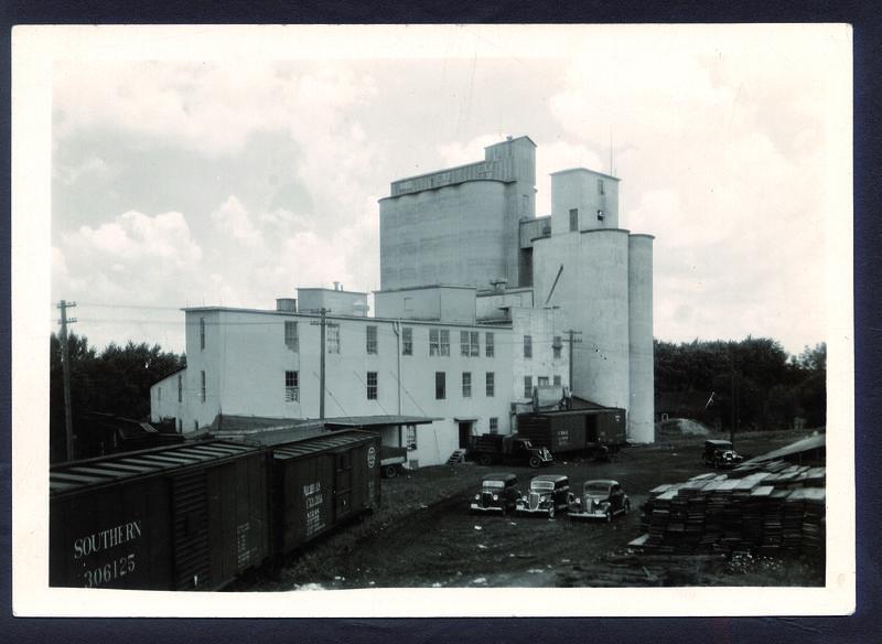 Plant silos in 1936.