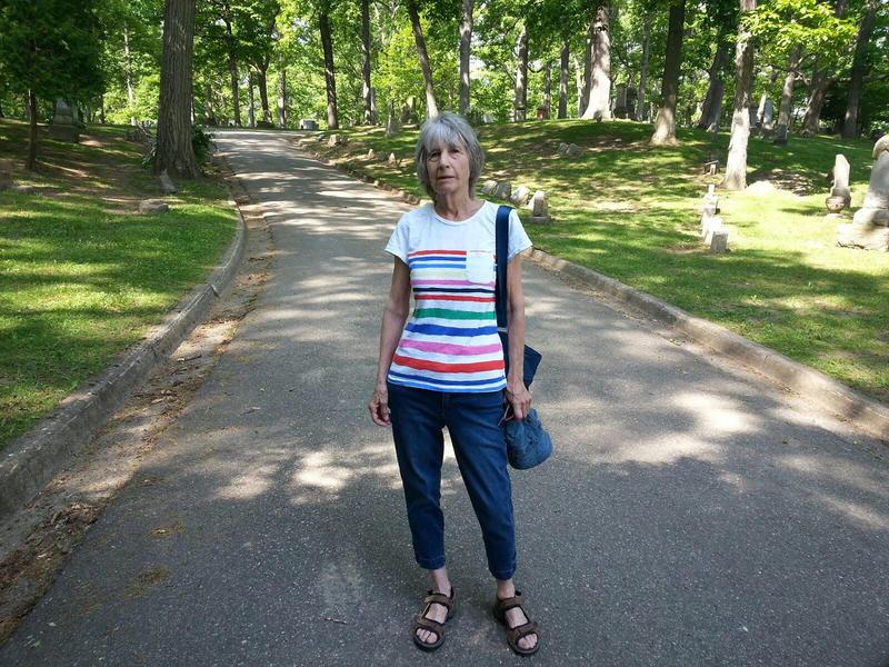 Ann Arbor historian Grace Shackman.