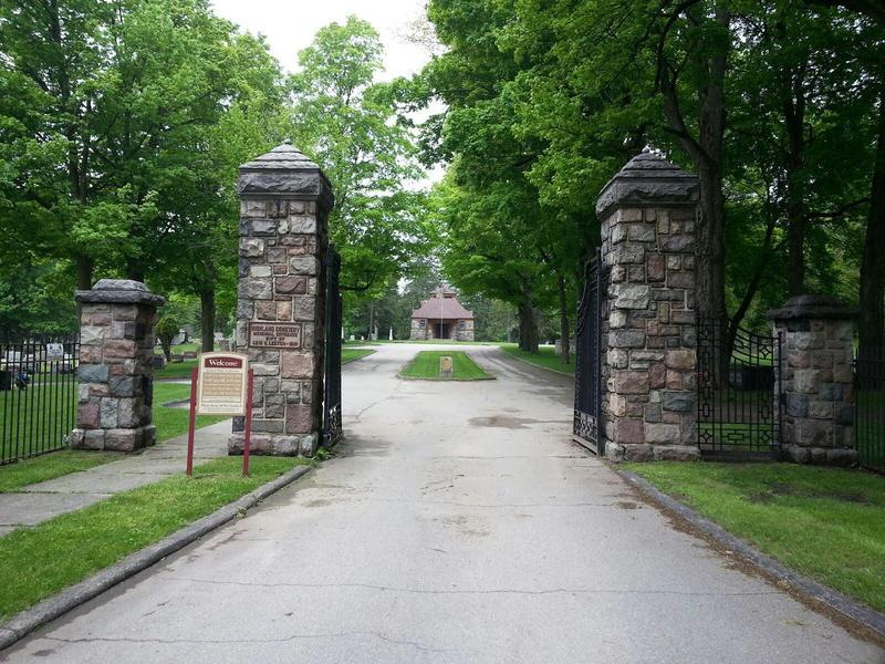 Highland Cemetery in Ypsilanti.