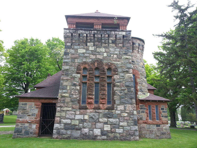 Tower at Starkweather Chapel.